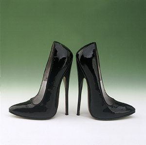 Black Patent Leather Fetish Shoes 1973 - 1977 ...
