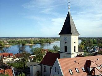 Lebus - Image: Lebus Unterstadt panoramio