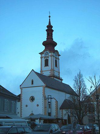 Leibnitz - Image: Leibnitz parish church 21 12 2005