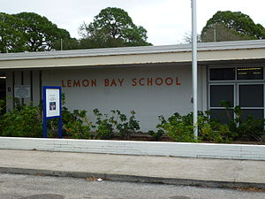 Lemon Bay High School - The old building