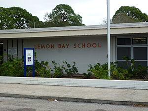 Lemon Bay High School - The old building