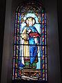 Les églises d'Argenteuil (Charente-Maritime) église, vitrail 3.JPG