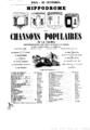 Les chansons populaires de la France - Pantomime - Hippodrome 1857.png