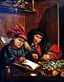 'The Tax Collectors' by van Reymerswaele, via wikimedia commons