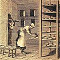"""Les merveilles de l'industrie, 1873 """"Haloir, ou séchoir, pour la fabrication du fromage de Camembert"""". (4305560559).jpg"""