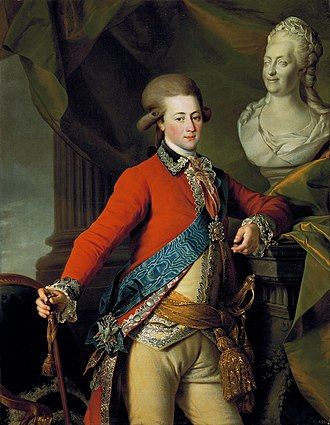 Portrait of Alexander Lanskoy, aide-de-camp to the Empress, 1782, Russia Levitsky Lanskoy.jpg