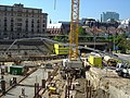 Lex building in Brussels, foundation work 2004-06-08-02.jpg