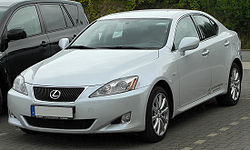 Lexus IS 220d (XE2) front 20100725.jpg