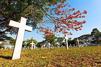 Heroes' Cemetery - The Libingan ng mga Bayani or Heroes' Cemetery