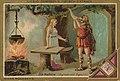 Liebigbilder 1889, Serie 135. Opernszenen (Wagner) - 1 Die Walküre (Siegfried labt Siegmund).jpg