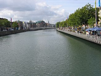Liffey in Dublin