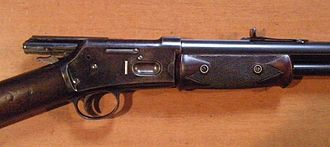 Colt Lightning Carbine - Colt-Lightning breech open