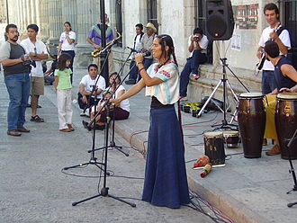 Lila Downs - Lila Downs in Oaxaca in 2005