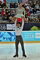 Lillehammer 2016 - Figure Skating Pairs Short Program - Su Yeon Kim and Hyungtae Kim 2.jpg