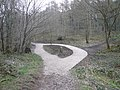 Linacre Woods - Recent change to Footpath - geograph.org.uk - 728034.jpg