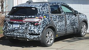 Industrial espionage - During testing, automakers commonly disguise upcoming car models with camouflage paint patterns designed to obfuscate the vehicle's lines. Padded covers, or deceptive decals are also often used. This is also to prevent Motoring Media-outlets from spoiling the model's big reveal.