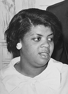 A close up of Linda Brown
