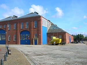 Scottish Maritime Museum - The A-listed Linthouse Engine building forms the main exhibition hall at the Irvine Museum.