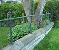 Listed Wall and Railings, Tow Law, Co. Durham - geograph.org.uk - 1281137.jpg