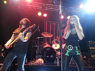 Lita Ford - Ford performing with Patrick Kennison