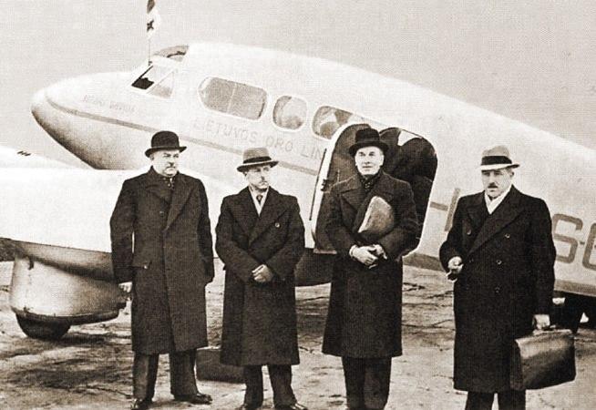 Lithuanian delegation 1939-10-07