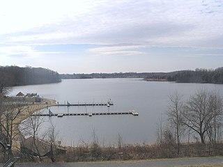 Little Seneca Lake lake in Montgomery County, Maryland