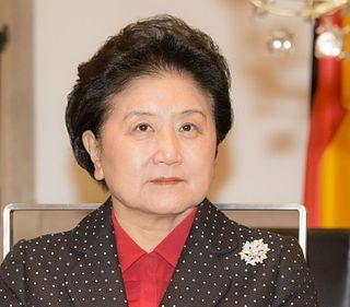 Liu Yandong Chinese politician