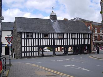 Llanidloes - Old Market Hall
