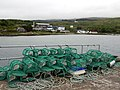Lobster pots on Craighouse pier - geograph.org.uk - 1431192.jpg