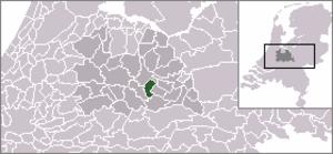 Driebergen-Rijsenburg - Image: Locatie Driebergen Rijsenburg 2005