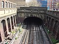 Location of former Marlborough Road tube station's platforms - geograph.org.uk - 771769.jpg