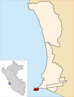 Location of the district La Punta in Callao.svg