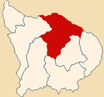 Location of the province Abancay in Apurímac.png