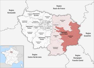 Arrondissement of Provins Arrondissement in Île-de-France, France