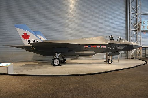 Lockheed Martin F-35 Lightning II (mock-up), Canada - Air Force AN1753011