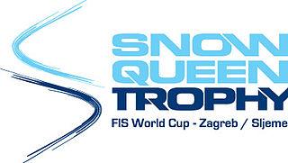 Snow Queen Trophy international alpine skiing event in Croatia