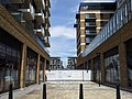 London-Woolwich, Royal Arsenal, Cannon Square - Crossrail Station 09.jpg