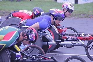 Josh Cassidy Canadian wheelchair racer