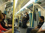 London Underground Jubilee Line.