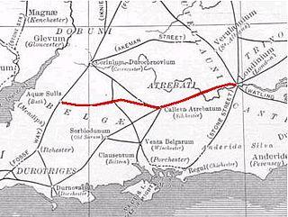 Devils Highway (Roman Britain) Roman road that ran from London to Bath