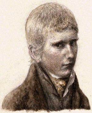 James B. Longacre - James Longacre, self-portrait at about age 12