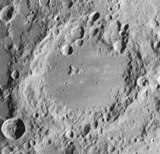 Longomontanus (crater) - Lunar Orbiter 4 image