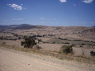 Tooma River von der Ardenside Road