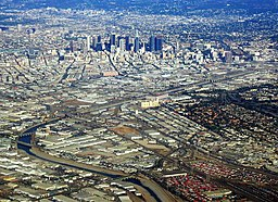 Los Angeles River Wikipedia - Los angeles river map