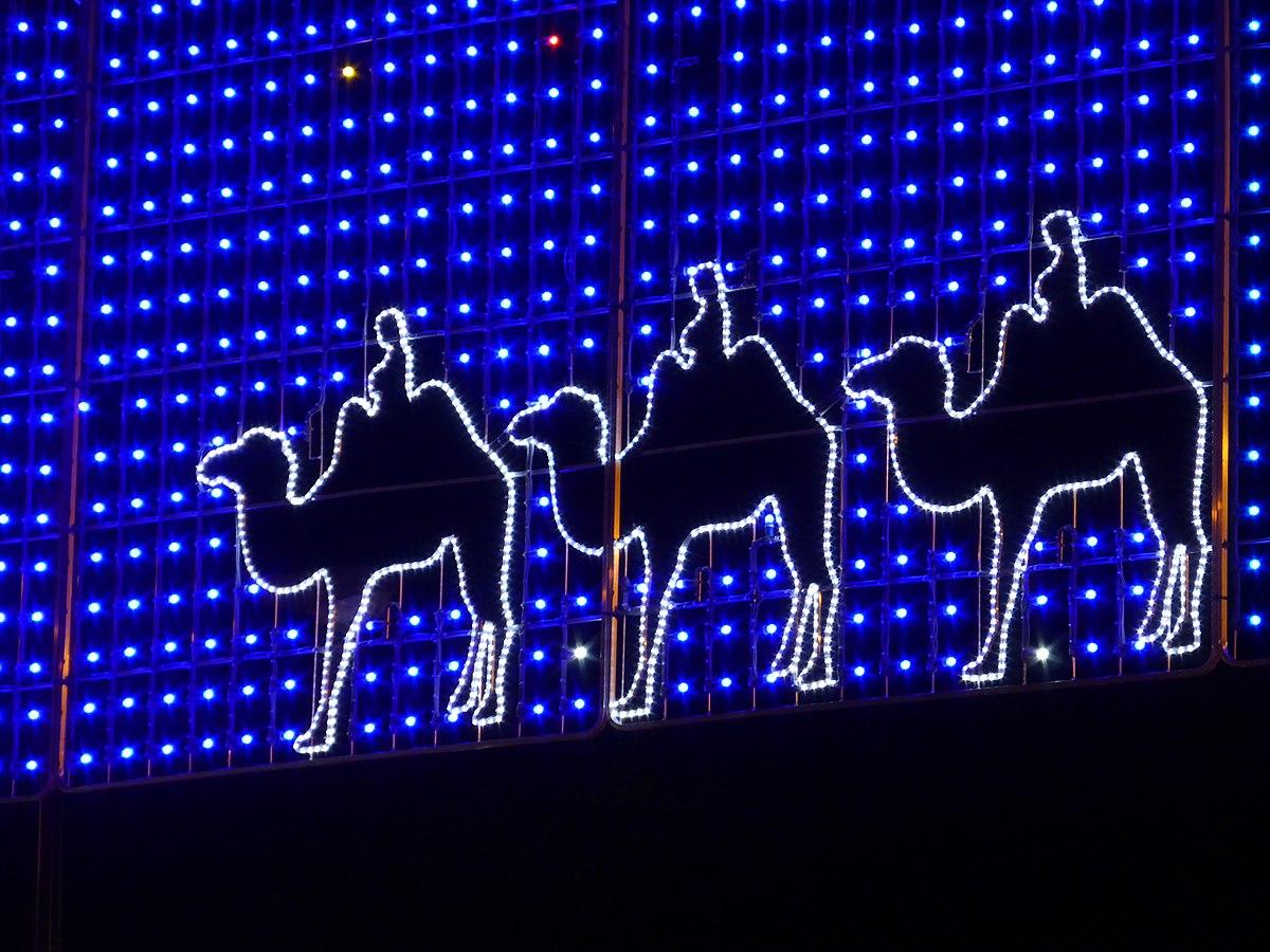 Luces de navidad wikipedia la enciclopedia libre for Adornos navidenos luminosos para exteriores