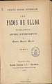 Los pazos de Ulloa 1886 Pardo Bazán T1.jpg