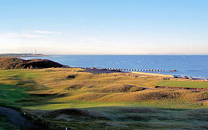 Moray Golf Club - Image: Lossiegolfcourse