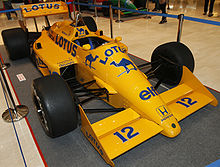 Ayrton Sennau0027s Lotus 99T On Display In 2010. The Brazilian Driver Gave Lotus  Its Last Ever Grand Prix Win When He Won The 1987 Detroit Grand Prix In The  ...