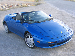Lotus Elan - 1991 Lotus Elan – Federal (USA) version