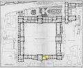 Louvre - Plan au rez-de-chaussée - Architecture françoise Tome4 Livre6 Pl5 (Académie d'Architecture).jpg